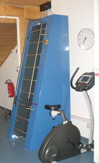 Endlosleiter und Fahrradergometer