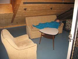 Wohnzimmer der Atemschutz Übungswohnung